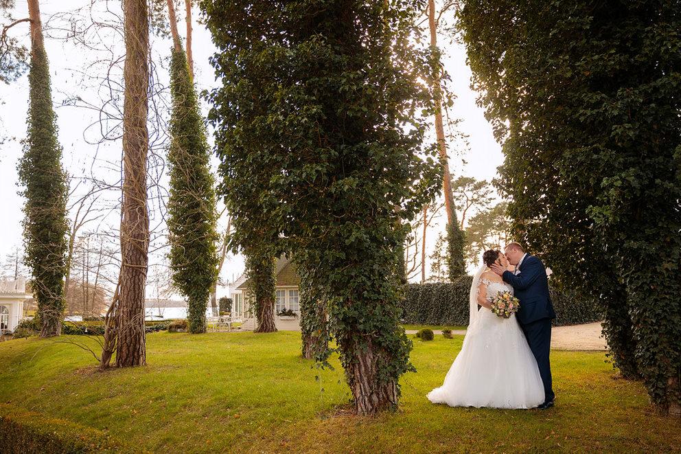 Hochzeit im März in Bad Saarow