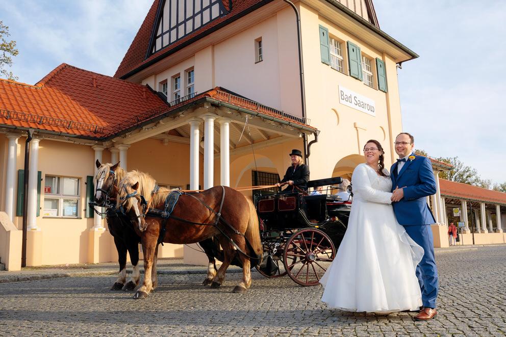 Hochzeit im Oktober in Bad Saarow