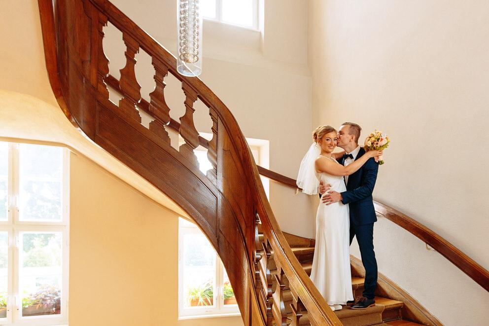 Hochzeitsfotos im Rathaus Templin