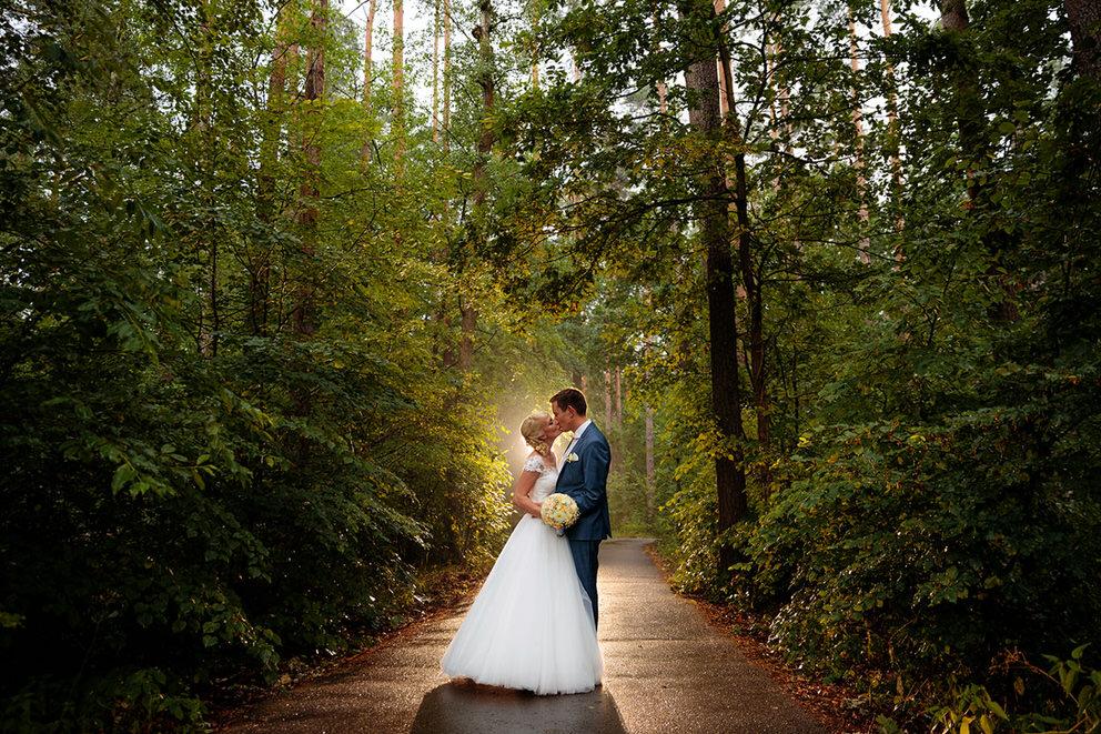 Hochzeitsfotos in der Nähe vom Hotel Döllnsee-Schorfheide