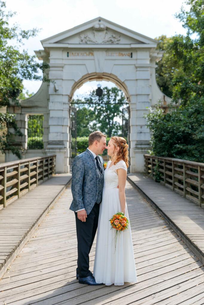 Hochzeitsfotos im Schlosspark Köpenick