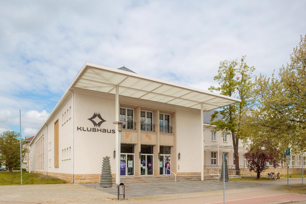 Das Klubhaus in Ludwigsfelde